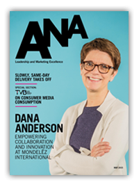 The May issue of ANA magazine